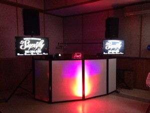 Dj setup on March 27th 2014